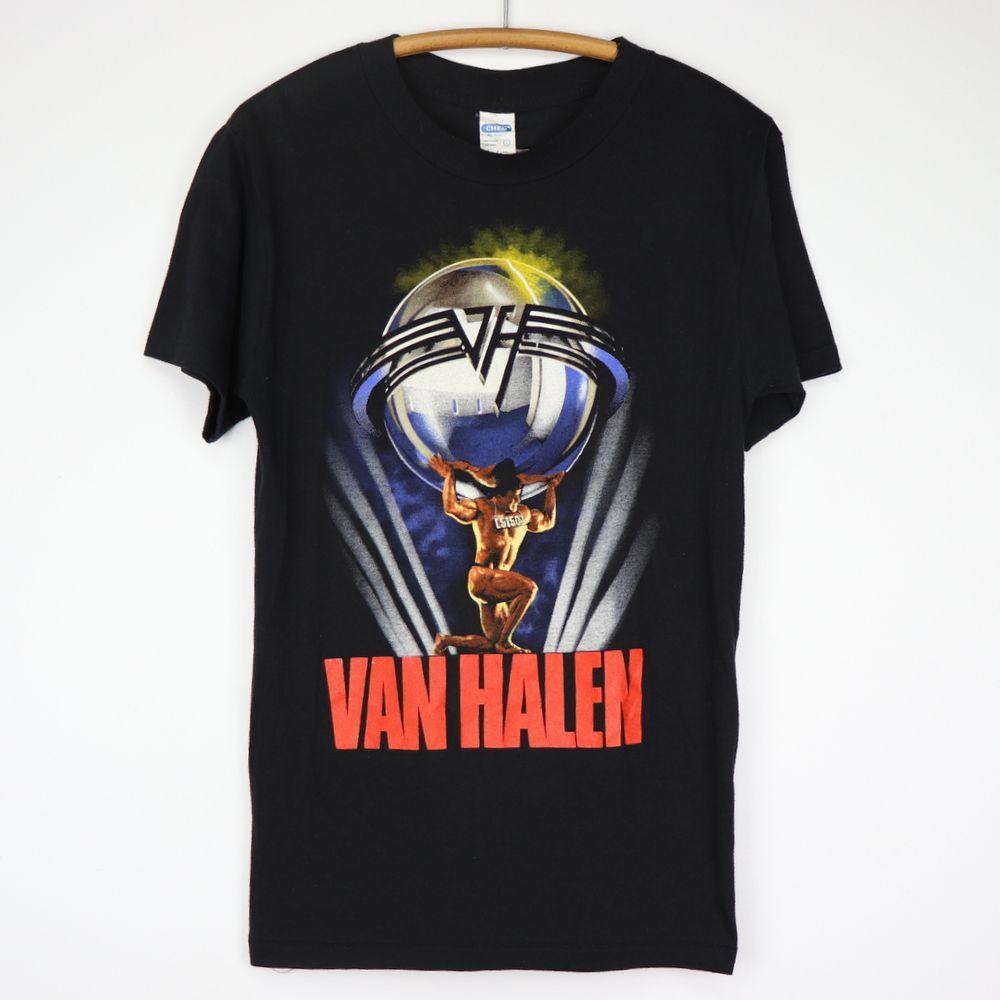 Vintage Van Halen 5150 1986 Tour Shirt Tour Shirt Shirts Van Halen 5150