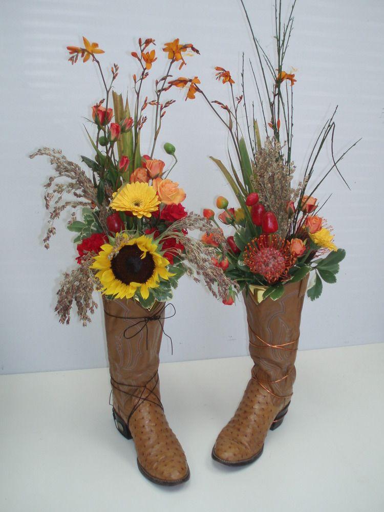 Western wedding flower arrangements for unique