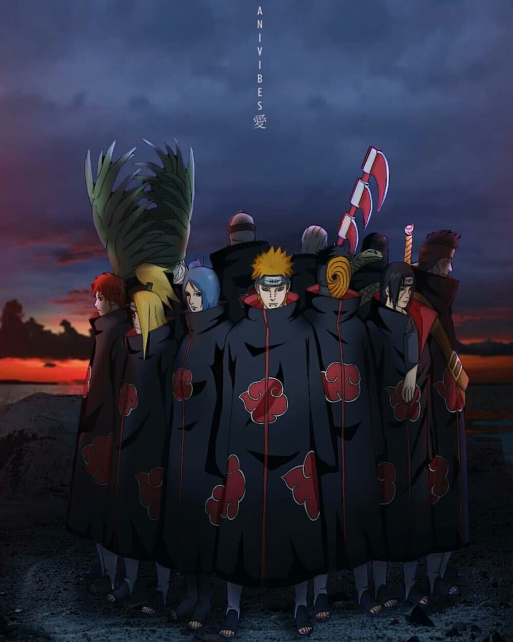 Pin By Angel Gardea On Supreme With Images Wallpaper Naruto