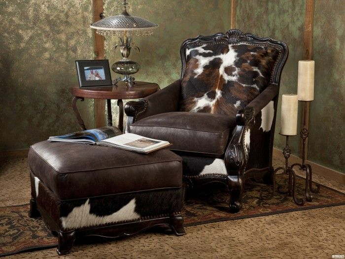 Brantley Chair And Ottoman Western Furniturerustic Furniturefurniture Decorfarmhouse
