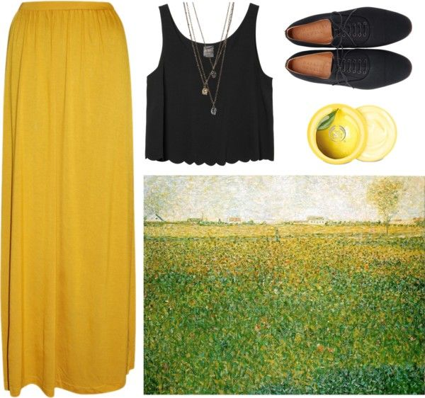 """Georges Seurat"" by earthtosofie on Polyvore"