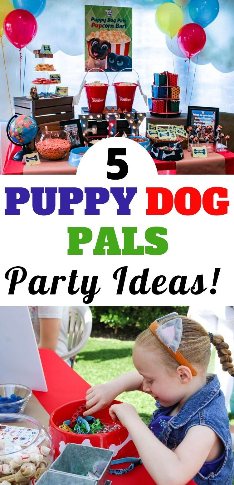 Are You Planning A Puppy Dog Pals Birthday Party For Your Little