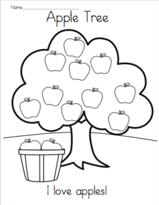 Kindergarten Rhyming Worksheets For February Made By Teachers Kindergarten Addition Worksheets Kindergarten Apple Lessons Apple Coloring Pages