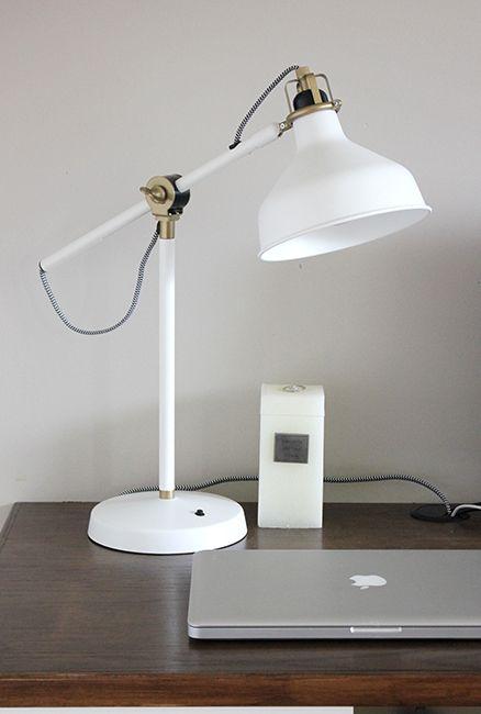 visual meringue:  Ranarp lamp from Ikea