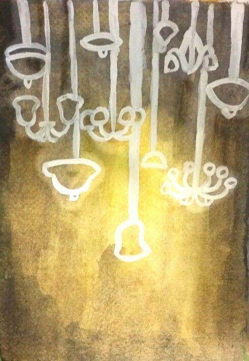 Breadth #5 - unity & form Watercolor.