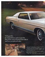 Ford LTD Luxury 1972 Ad Picture