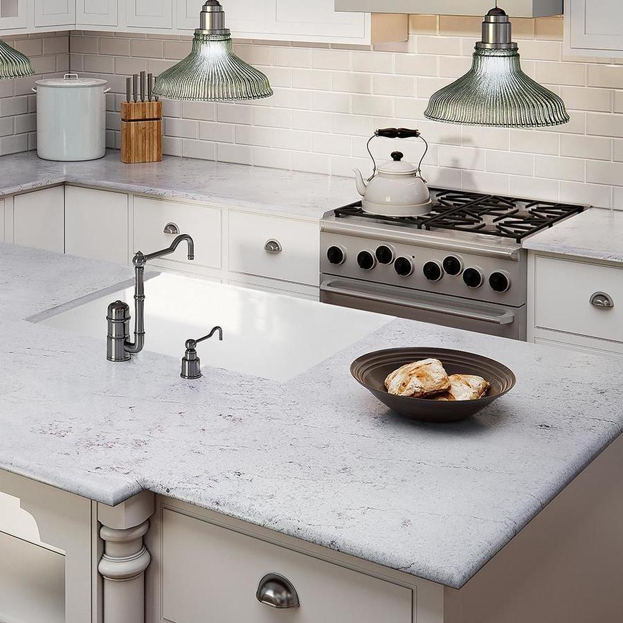 Allen Roth Auric Quartz Kitchen Countertop Sample Lowes Com In 2020 Quartz Kitchen Countertops Quartz Kitchen Kitchen Countertop Samples