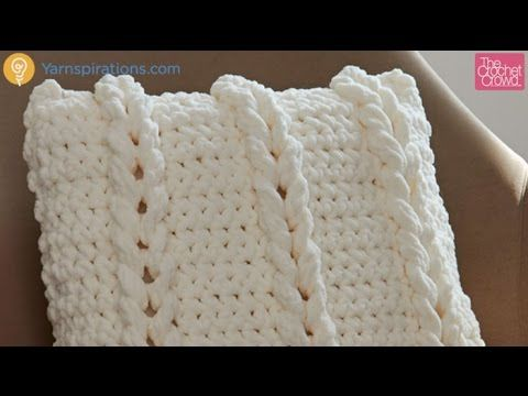 youtube knitting pillow case