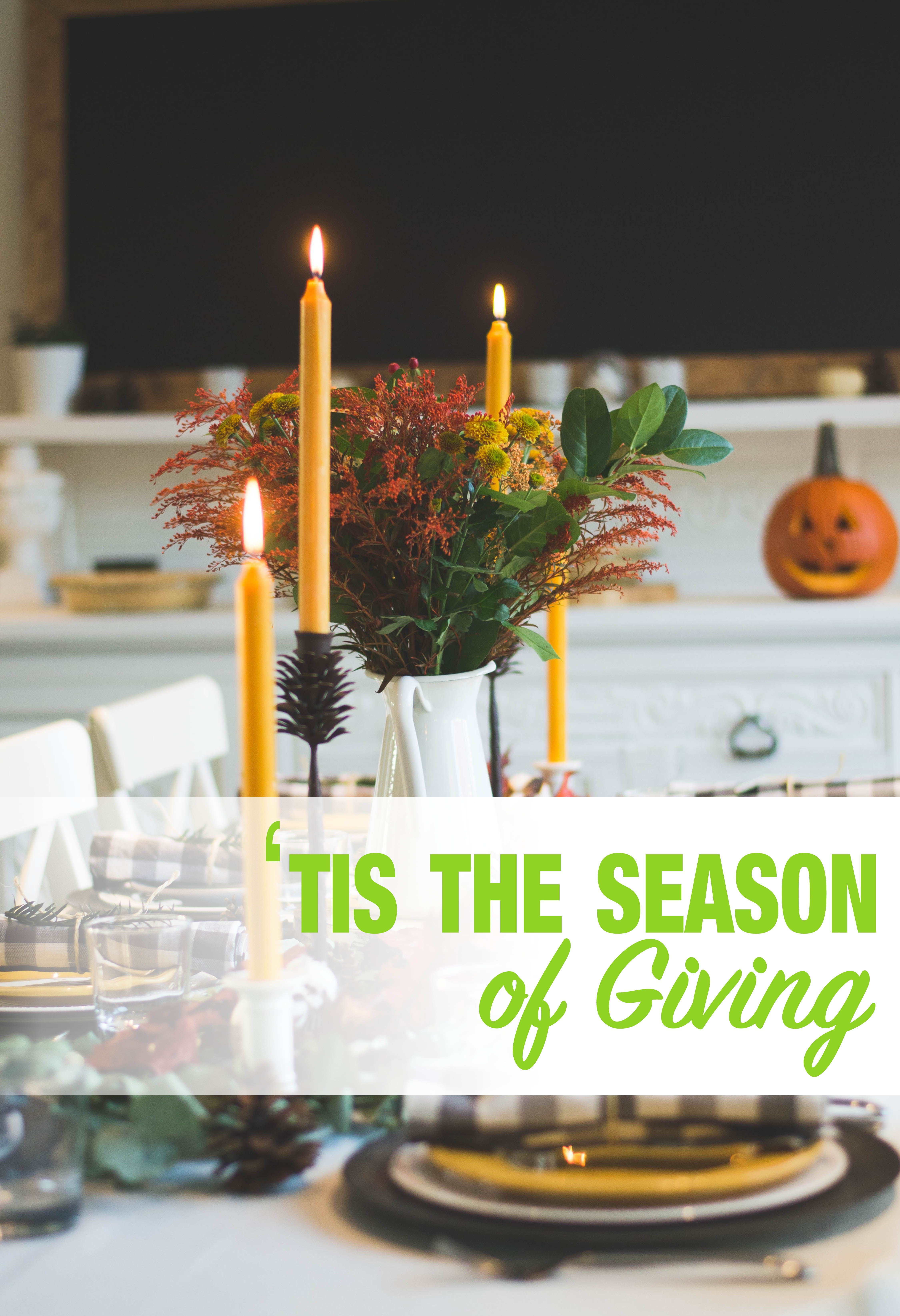 Give back this thanksgiving and help fill the pantries of
