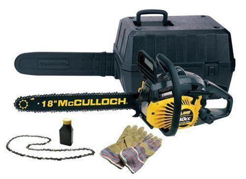 mcculloch chainsaw 18 inch   McCulloch 40cc 18-Inch Gas Powered