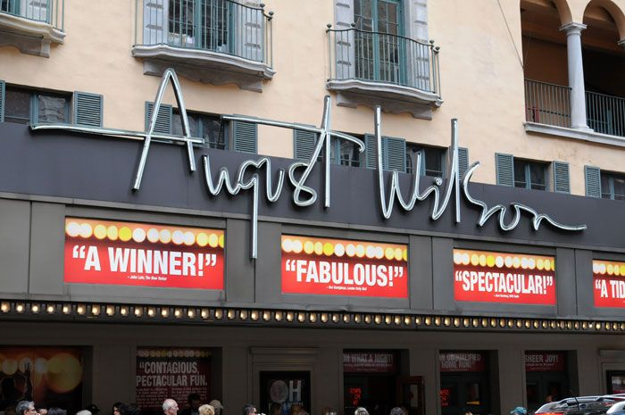 Jersey Boys at the August Wilson Theatre August Wilson Theatre