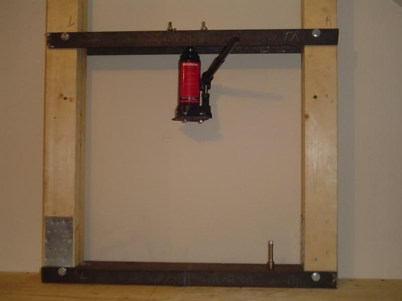how to make homemade bearing press