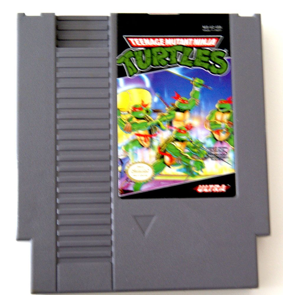 Nes Nintendo Teenage Mutant Ninja Turtle Original Game Cartridge