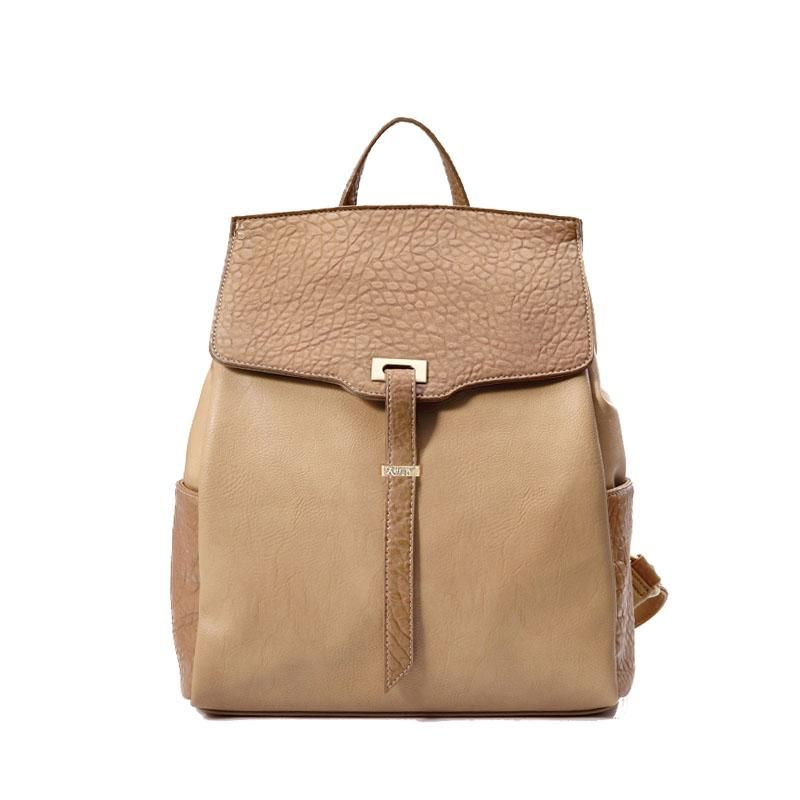 Sweet Style Solid PU Casual Backpacks Embellished with the Belt for Women (3 Colors for Option)
