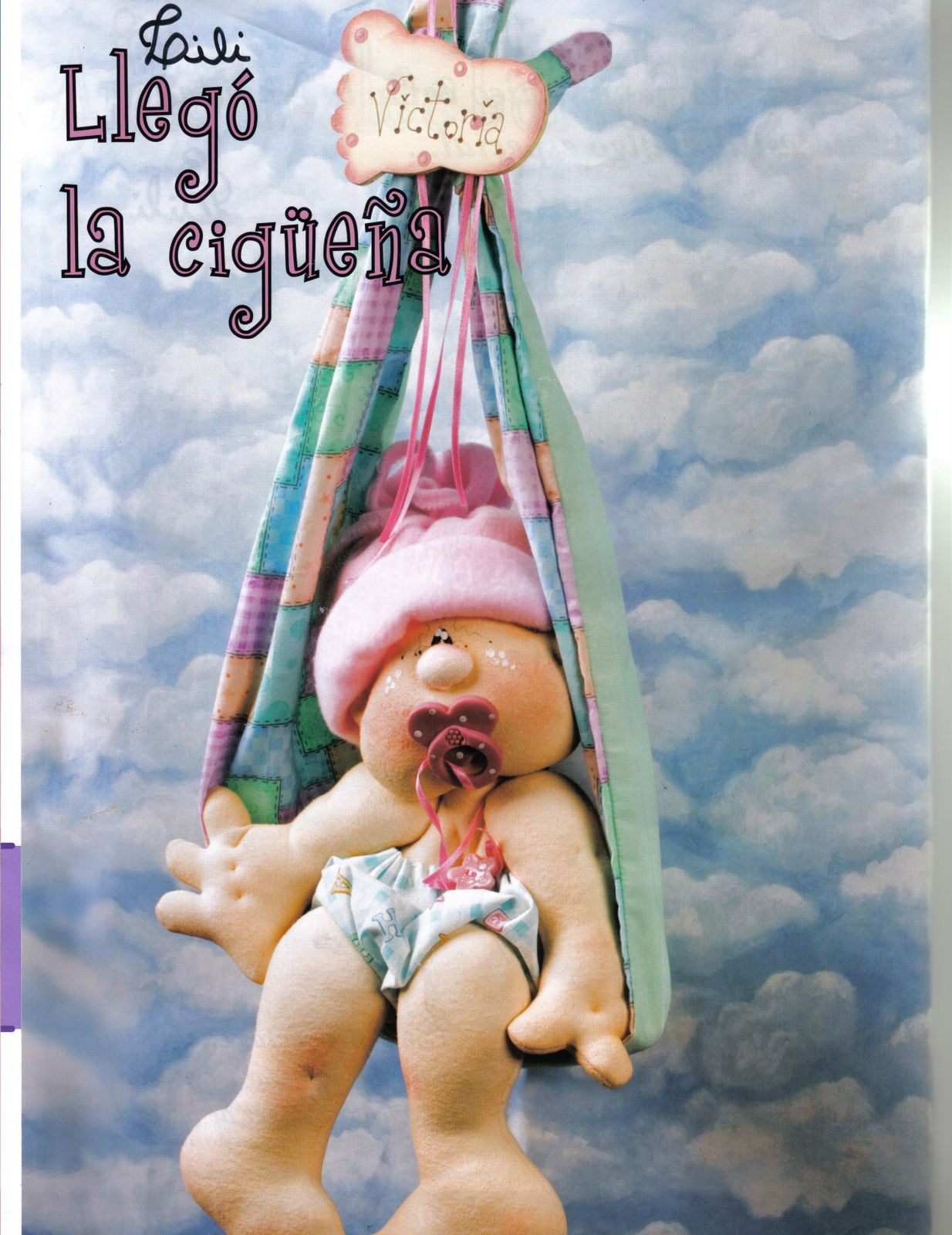 Mimin Dolls: bebe pendurado