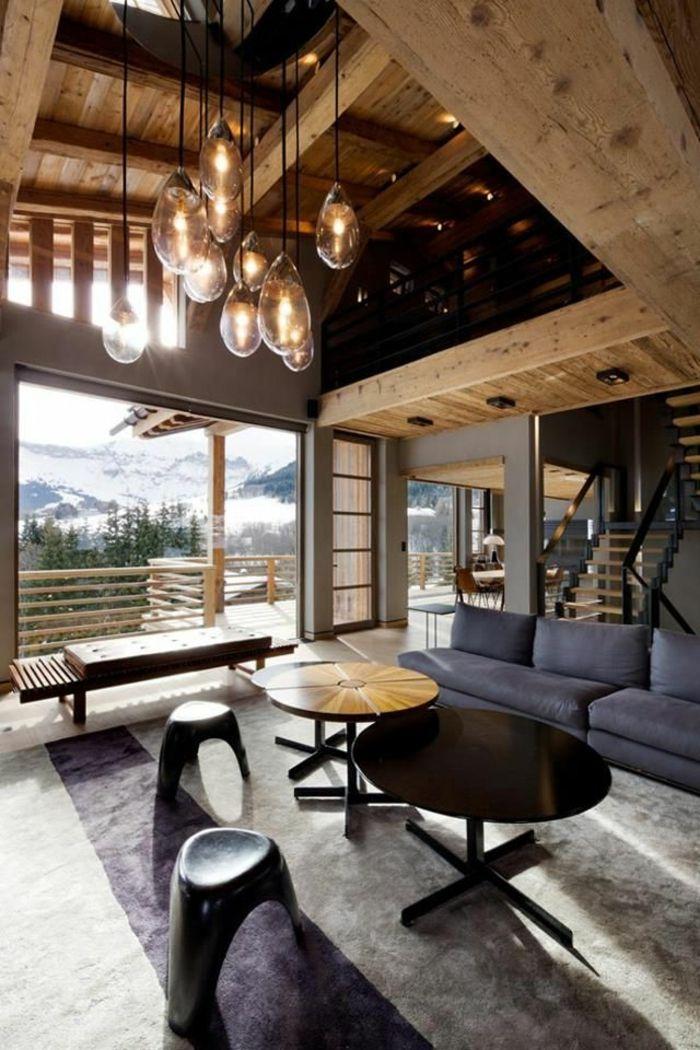 la poutre en bois dans 50 photos magnifiques design d int rieur pinterest poutres en bois. Black Bedroom Furniture Sets. Home Design Ideas