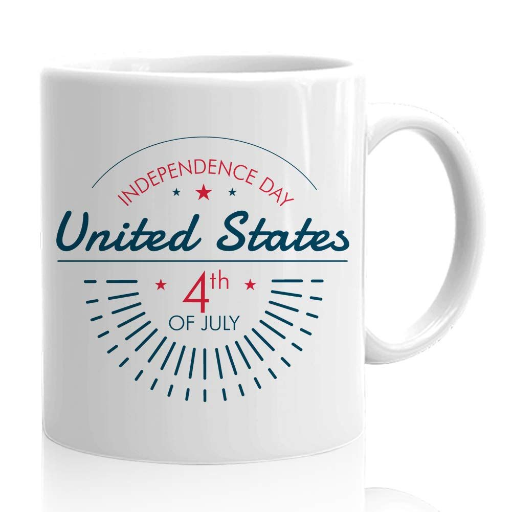 4th July Humorous Mug Gift Independence Day United States 4th Of July In 2020 Mugs Happy 4 Of July Gifts For Friends