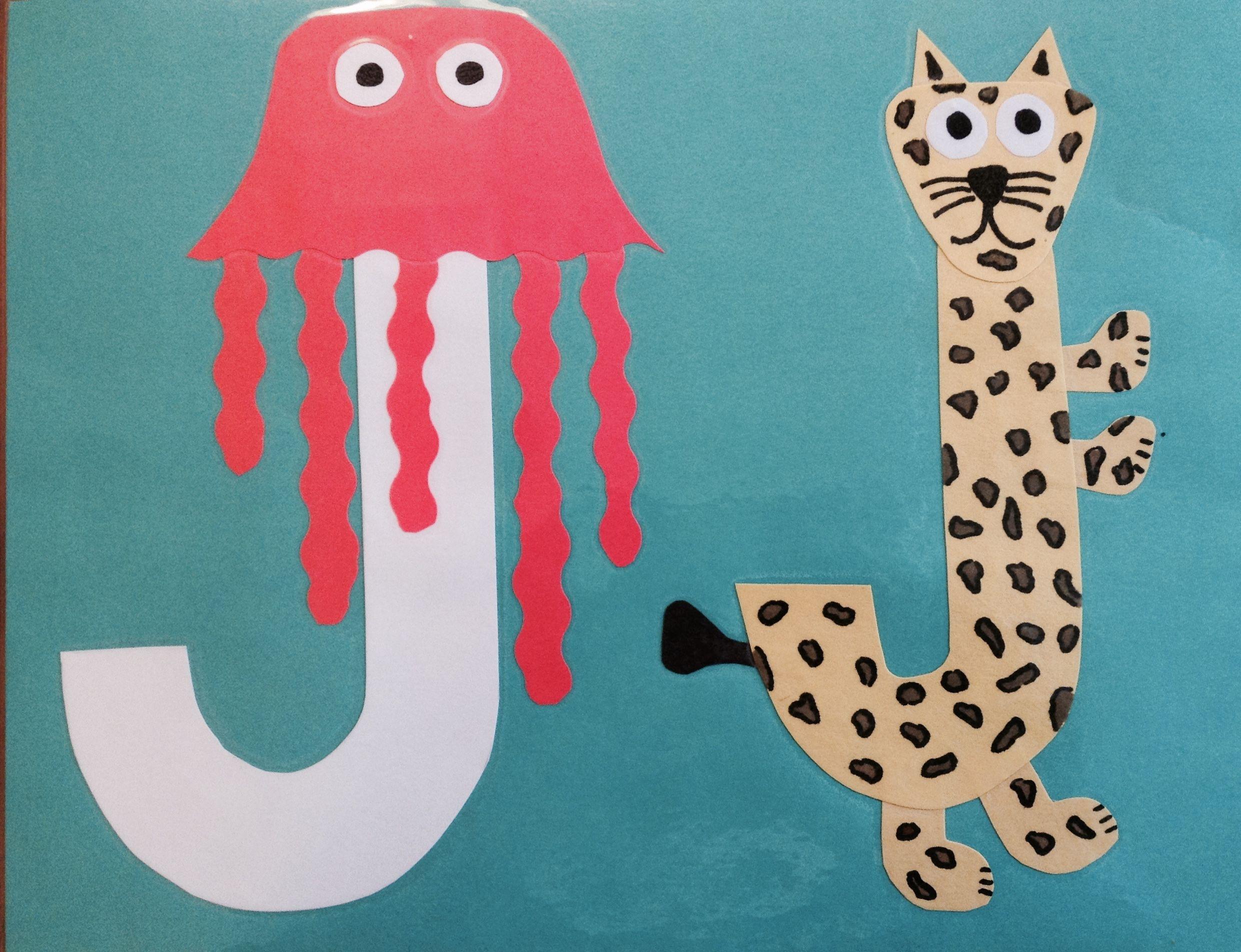 J Is For Jellyfish Amp Jaguar