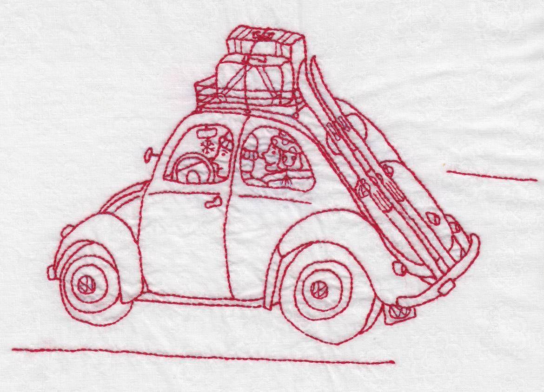 Image detail for -Bobby Socks Quilt Co. » New Free Redwork Series – Finally!