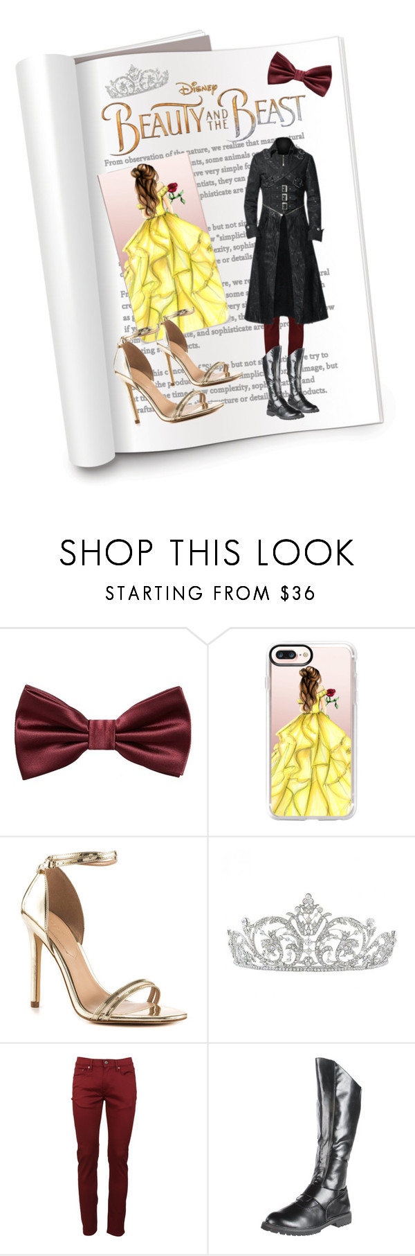 """""""B&tB"""" by ladytm87 ❤ liked on Polyvore featuring MANGO MAN, Casetify, ALDO, Disney, Burberry and Pleaser"""