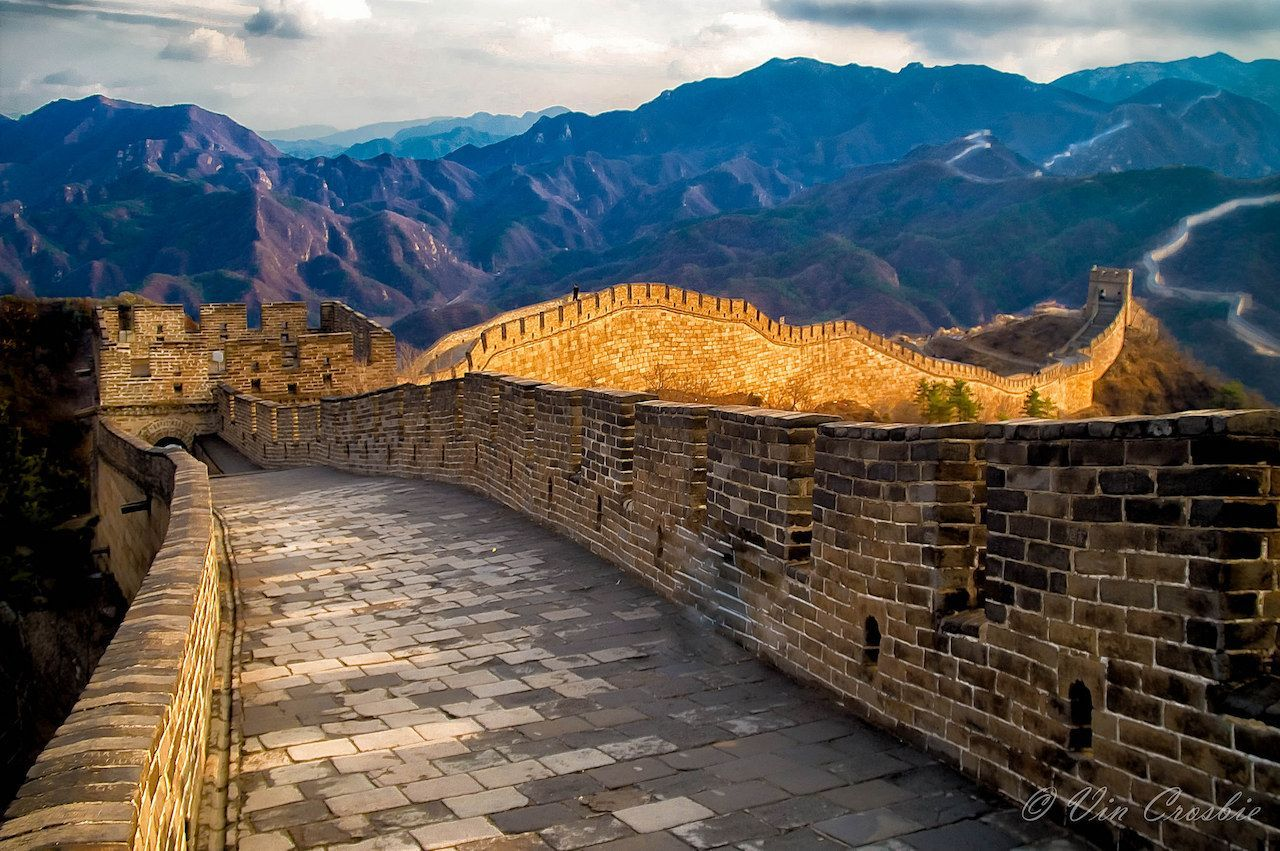 21 amazing images of the new seven wonders of the world on great wall chinese restaurant id=31172