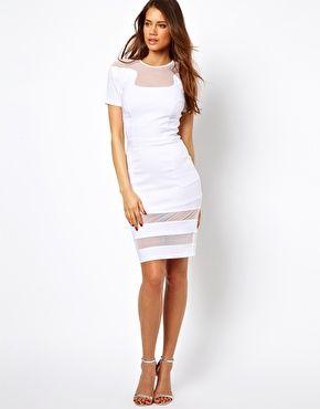 bride : short white dress  Asos - Kleid von Hybrid 125 EUR