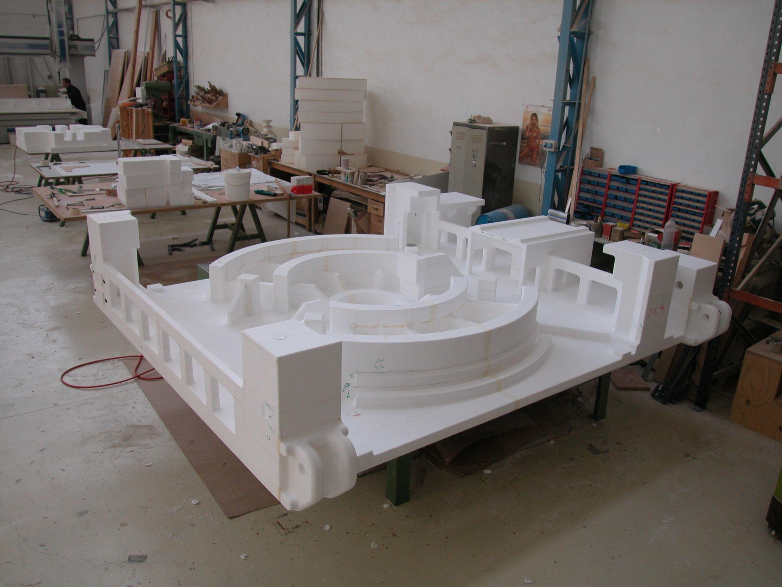 Modelo poliestireno para troquel modelos maquetas y - Maquetas y prototipos ...