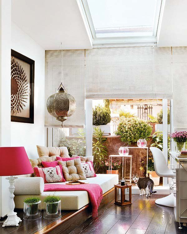 Attractive Inspiration Bohemian Couch. Love how this room is so relaxed and bohemian but still feels modern  clean