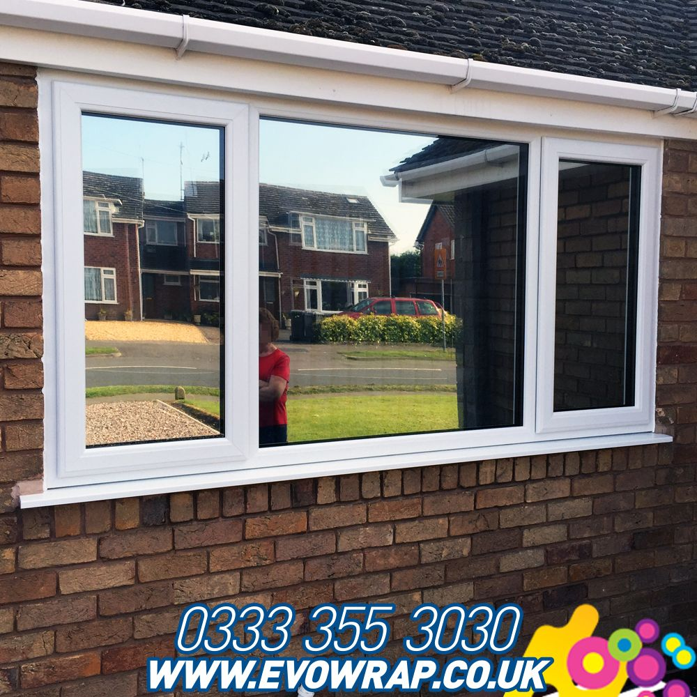 Silver One Way Window Film To Stop People Looking In But Allow You