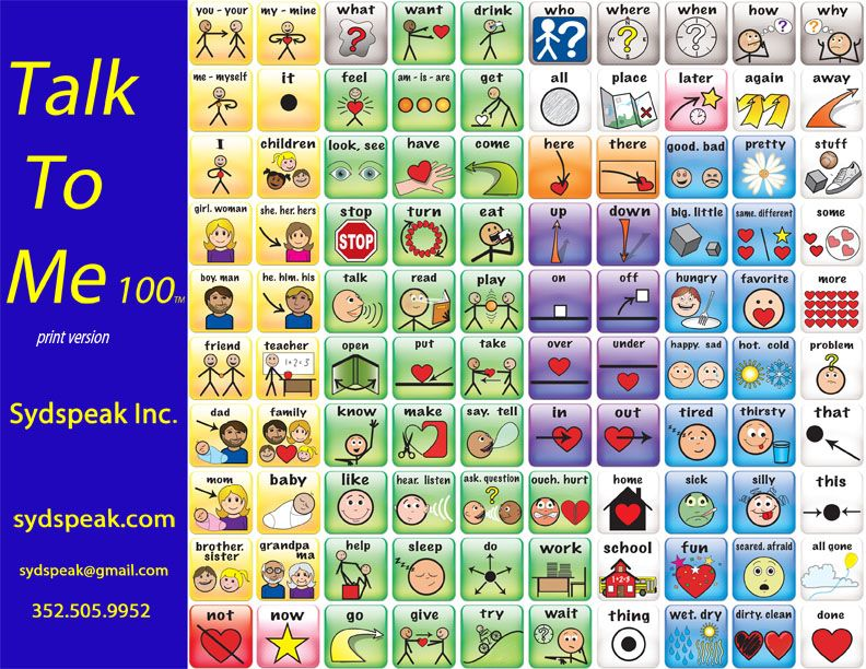 Print Version of Talk to Me 100 Download a free print