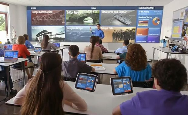 future technology in the classroom