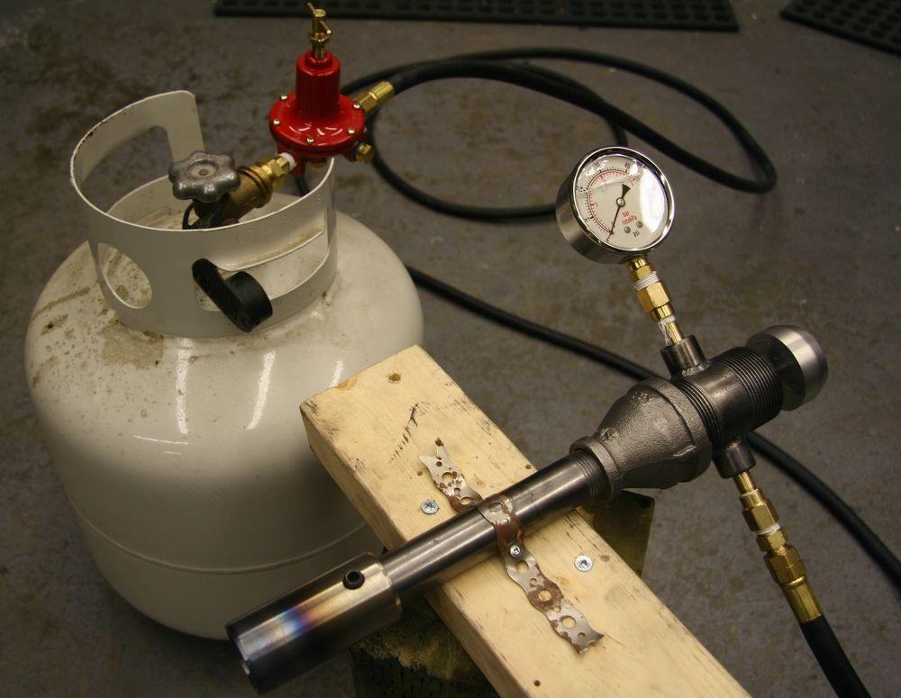 Blazin Barrel Venturi Burners Propane Forge Forge