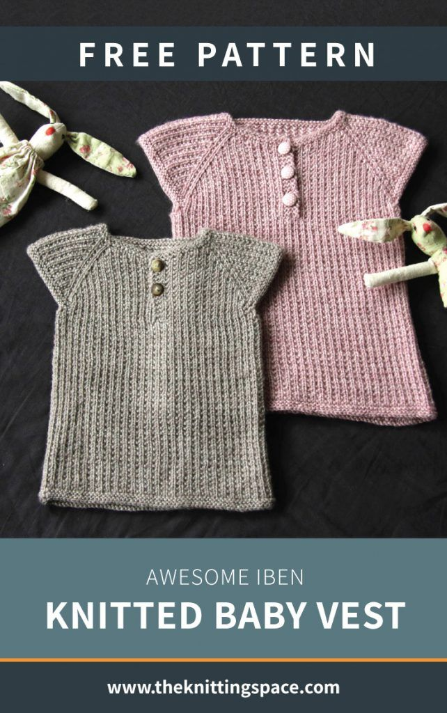 Awesome Iben Knitted Baby Vest [FREE Knitting Pattern ...