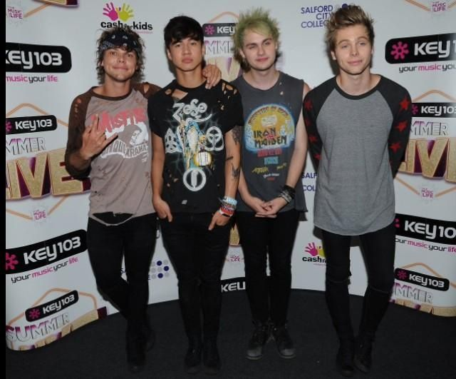 5 Seconds of Summer in Manchester