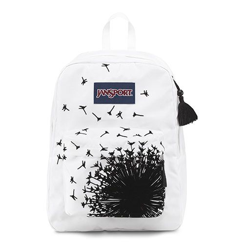 283212 JanSport® High Stakes® Backpack-Black/White Wish (design is ...