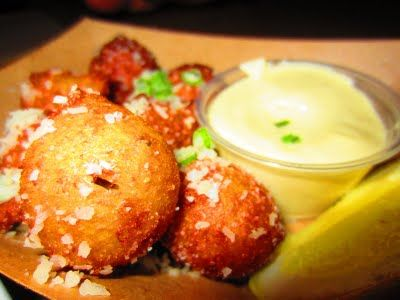 Hush Puppies from Fundamental LA in Westwood Eat, Food