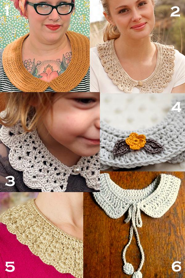 Free Crochet Collar Patterns Crochet Crochet Collar Crochet