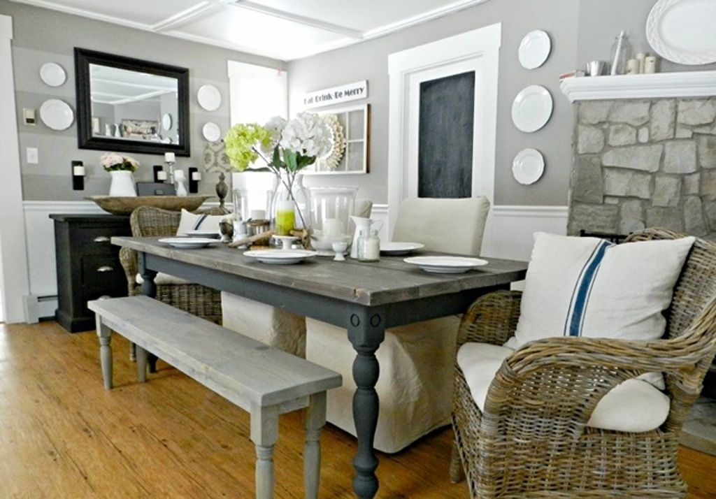 Country dining room   Home and co   Pinterest   Country dining rooms ...