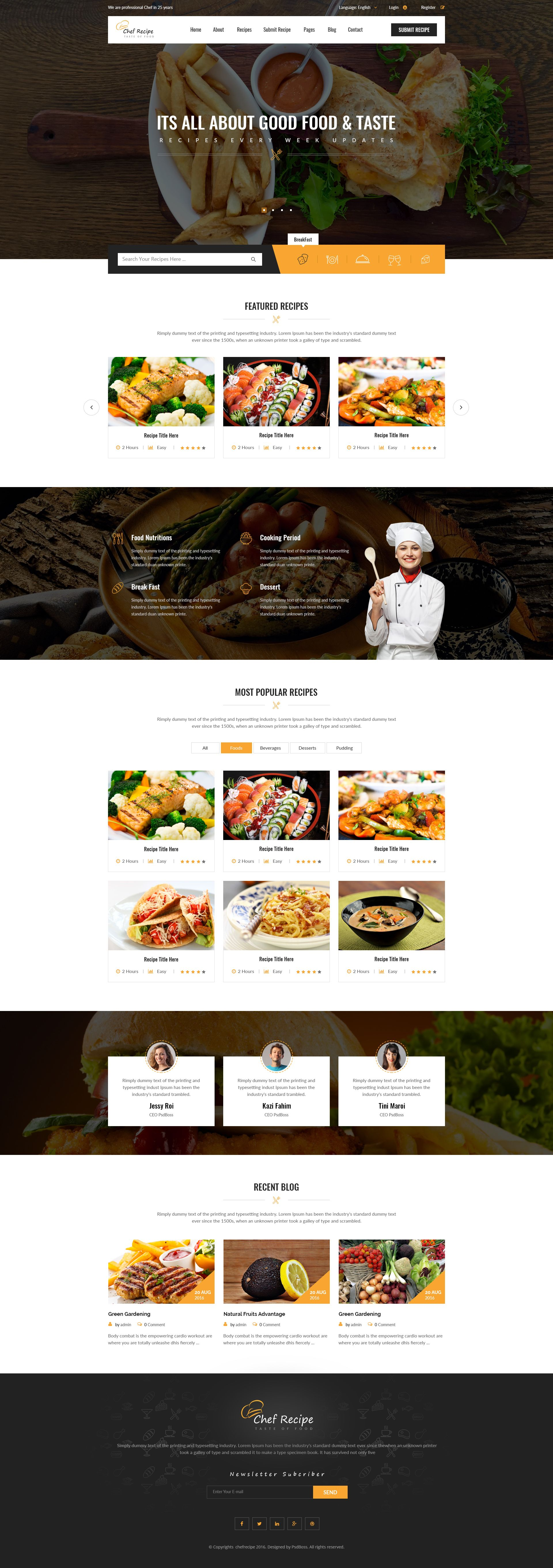 Chef recipe food and recipe psd template pinterest chef chef recipe food and recipe psd template chefs cooking cuisine download forumfinder Choice Image