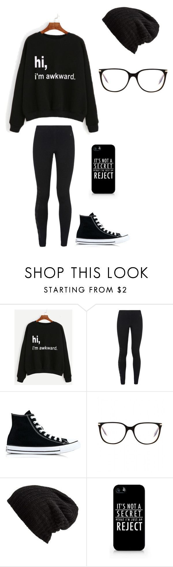 Untitled #151 by darksoul7 on Polyvore featuring NIKE, Converse, Victoria Beckham, Free People and Samsung