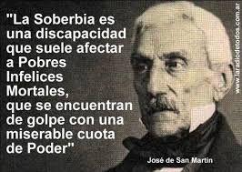 Gral. San Martín.- Héroe máximo de la      ARGENTINA. LIBERÓ  a Chile y Perú.