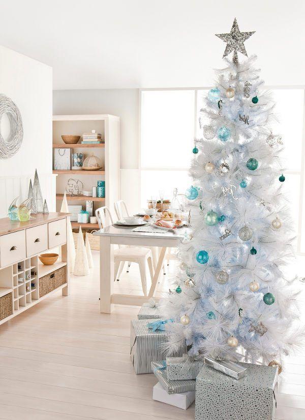 White christmas tree decorating themes holidays ) Pinterest - white christmas tree decorations