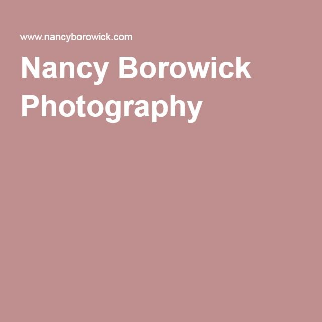 Nancy Borowick Photography