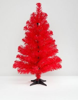Paperchase 2 Foot Pink Christmas Tree