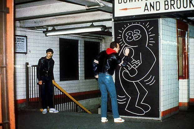 Keith Haring retrospective Musée d'Art moderne de la Ville de Paris CENTQUATRE (4)