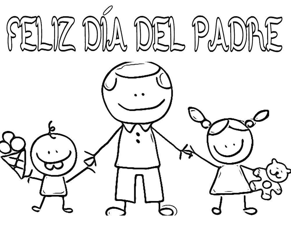 Dibujos Para El Dia Del Padre Bonitos En 2020 Carteles Dia Del Padre Feliz Dia Del Padre Dia Del Padre
