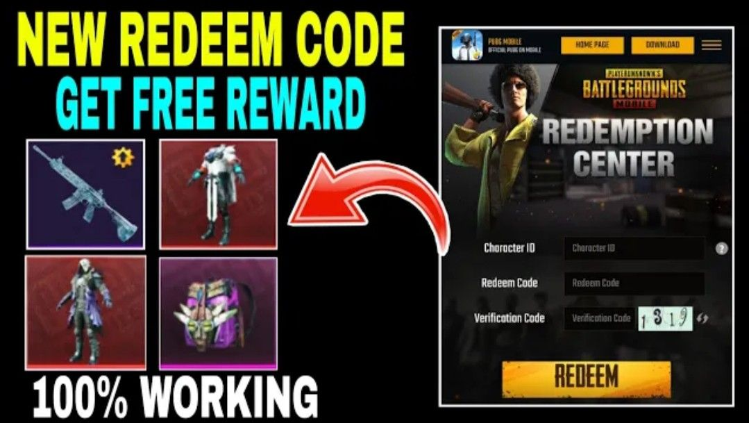 How To Get Free Redeem Code For Pubg Mobile