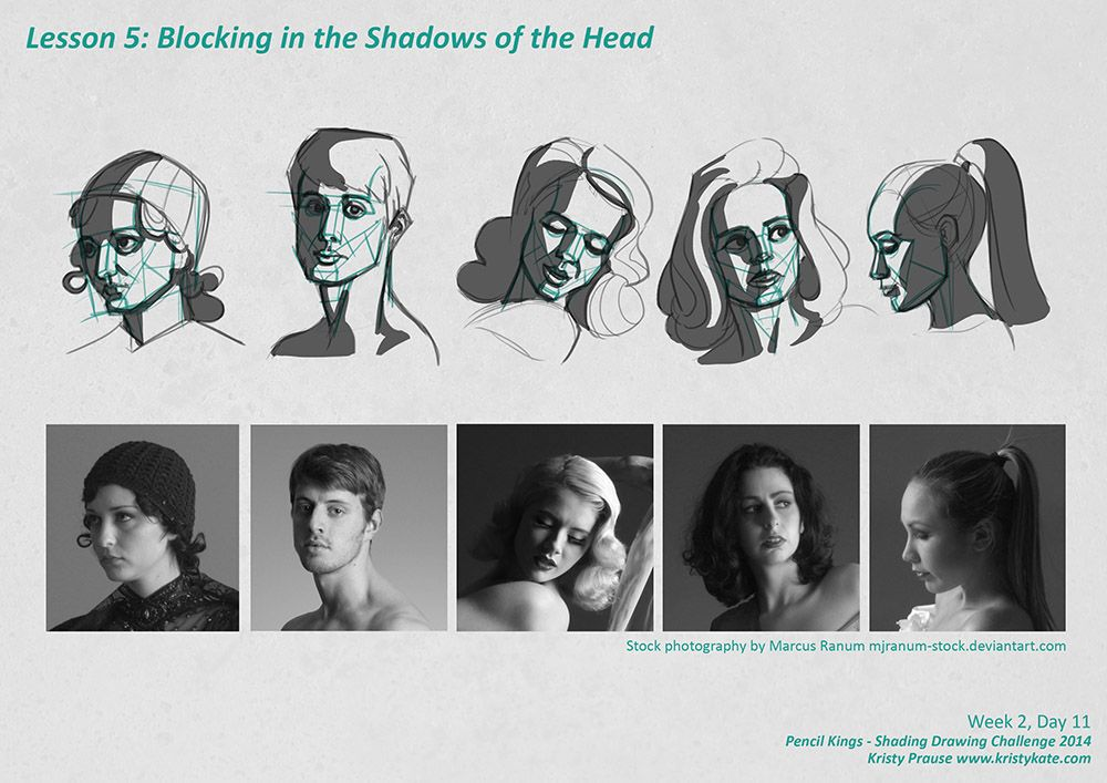 Sdc Blocking In The Shadow Value Of The Head Shadow Illustration Shadow Face Face Illustration