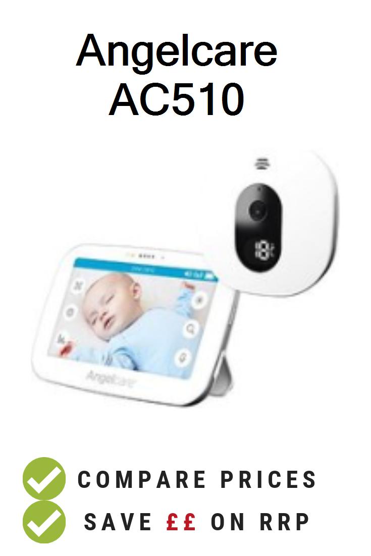 Motorola MBP481 Digital Video Baby Monitor with 2 inch Display Silver