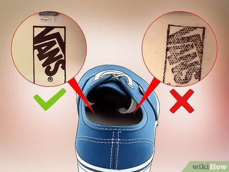 2f3d8e55482b47 3 Ways to Tell if Your Vans Shoes Are Fake - wikiHow